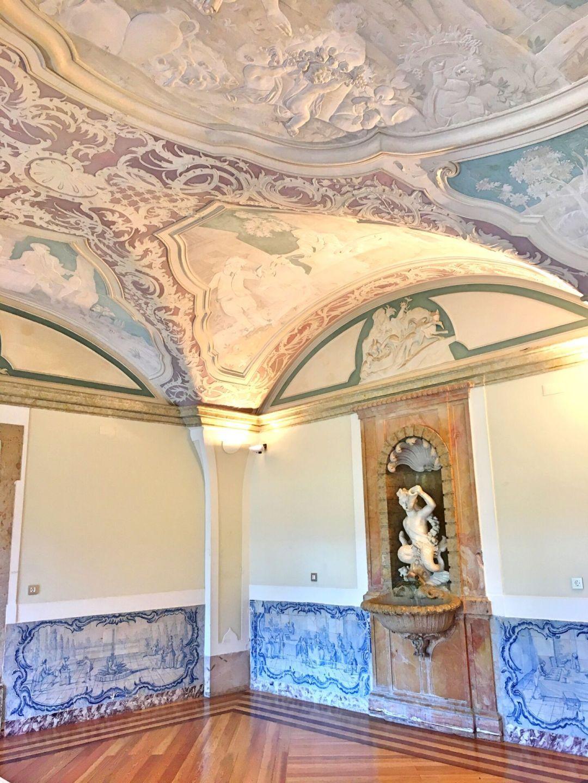 Paineis azulejos palacio Marques de Pombal