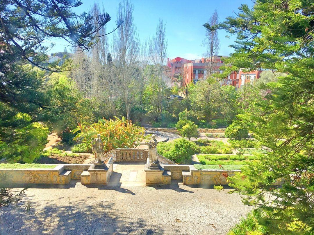 Gardens palacio Marques de Pombal