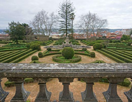 Overlooking the Ajuda Botanical Garden
