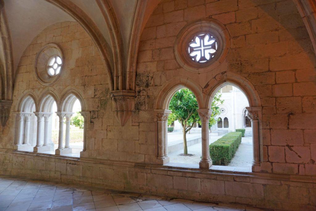 Alcobaça Monastery inner walls