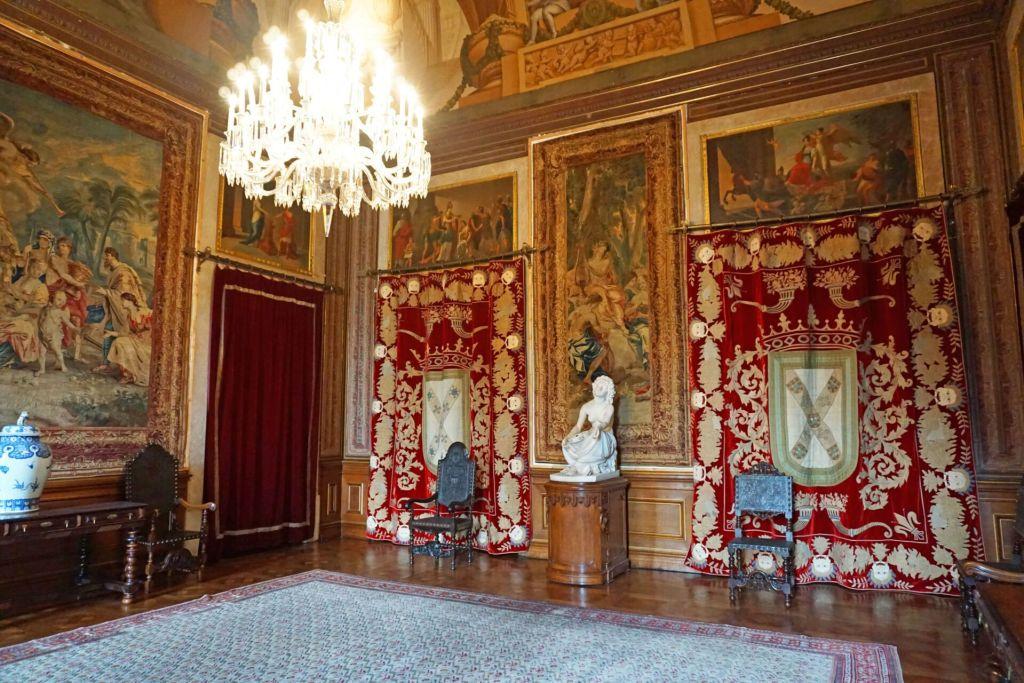 Entrance room Palacio da Ajuda