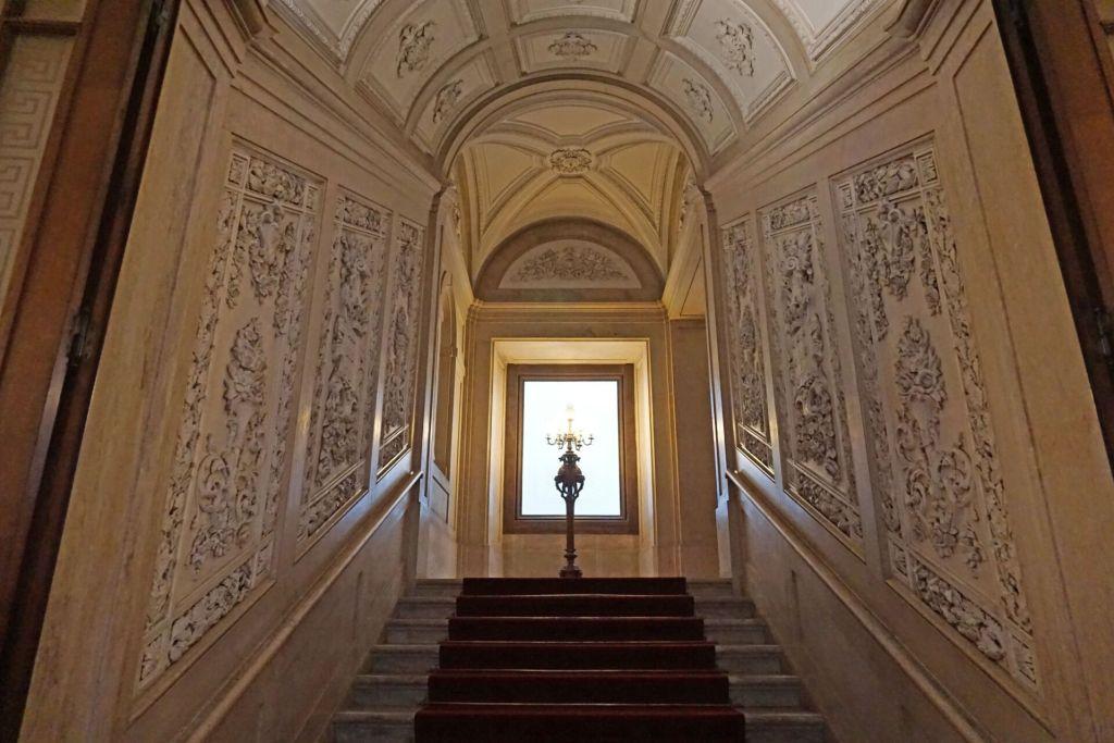 Stairway Palacio Nacional da Ajuda