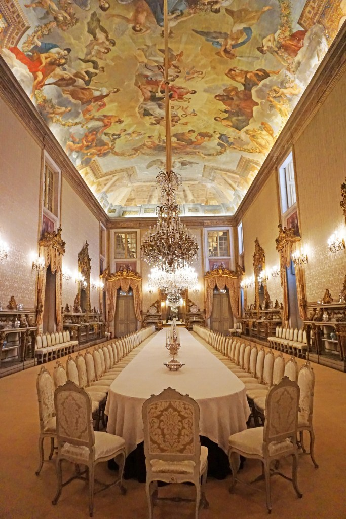 Dining room Palacio da Ajuda