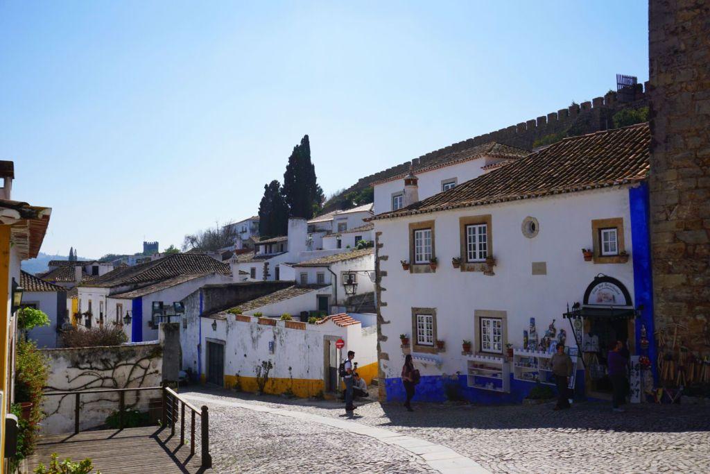 Buildings in Obidos