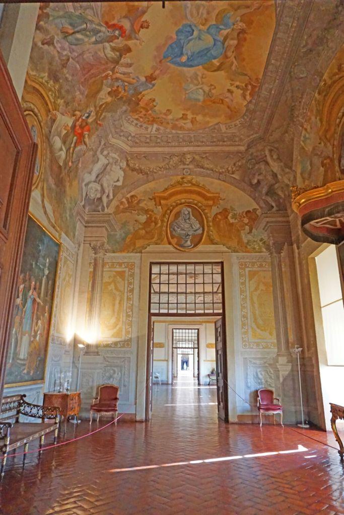 Paintings at Palácio Nacional de Mafra