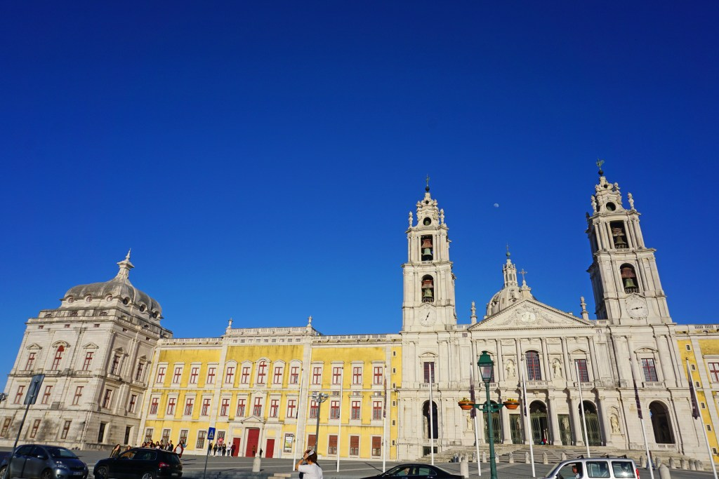 Section of Mafra National Palace