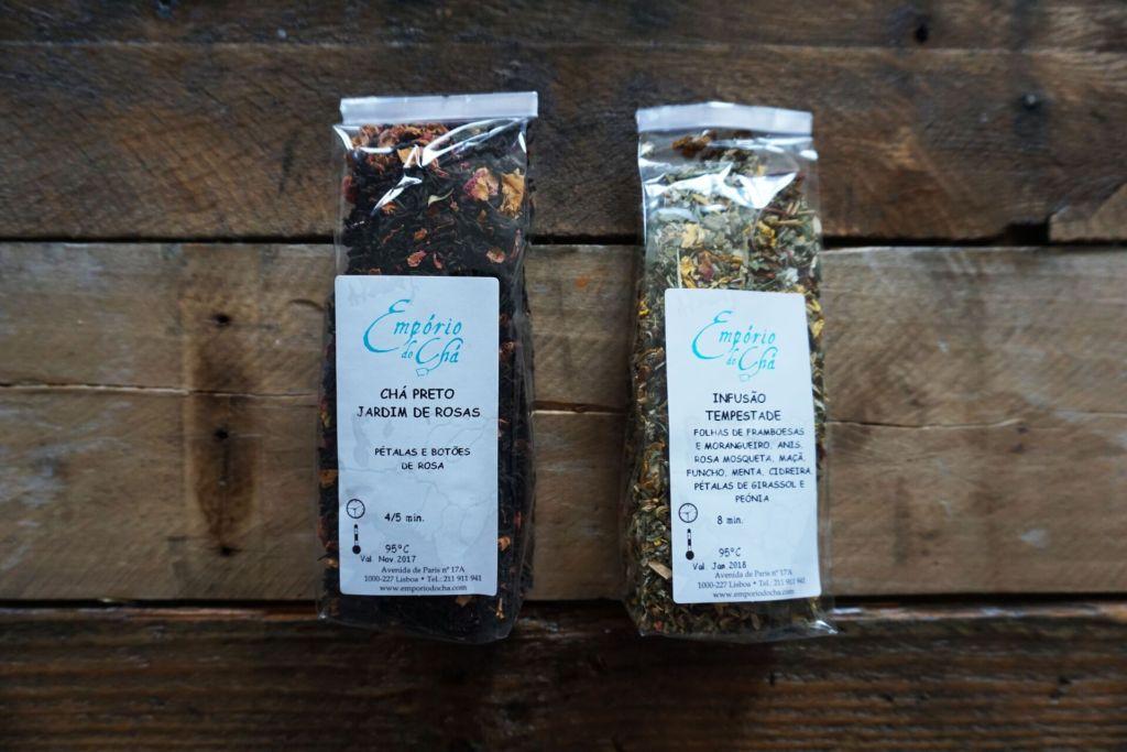 Teas from Emporio do Cha