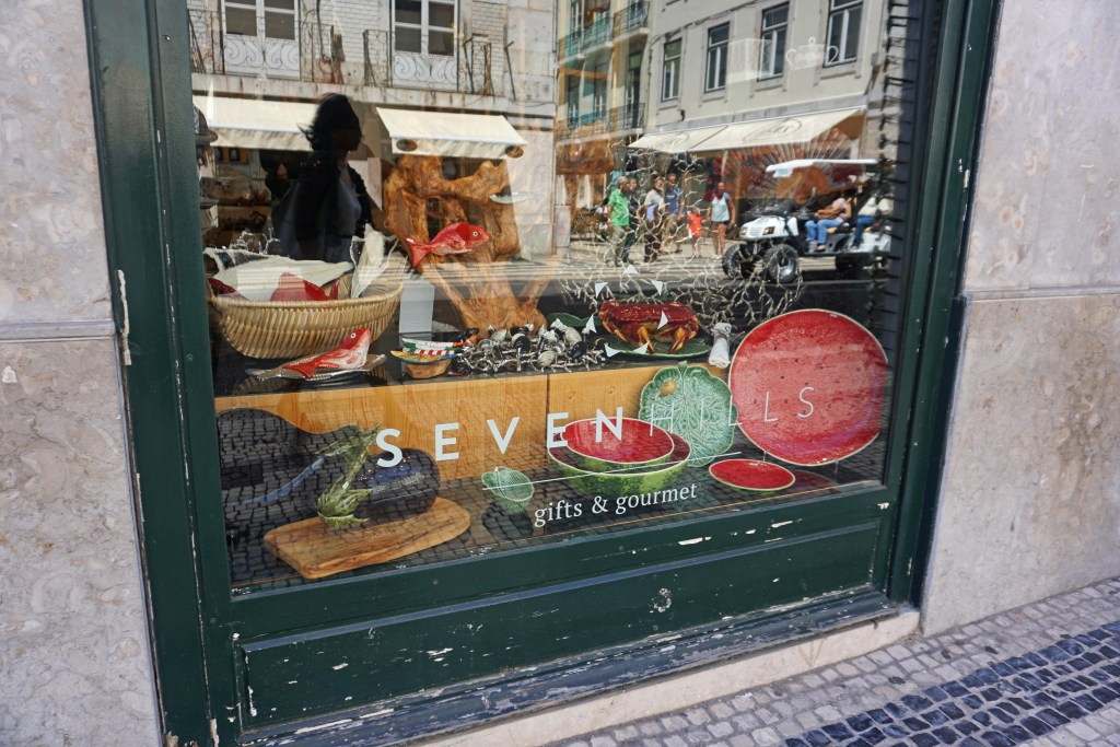 Seven Hills shop window