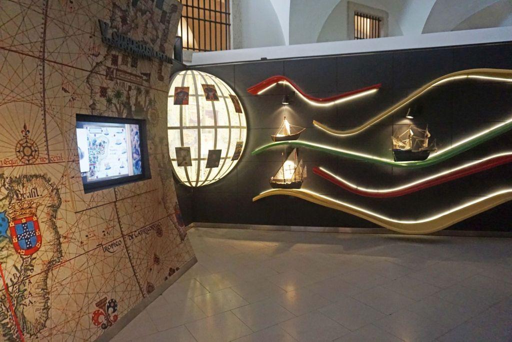 Lisboa Story Centre caravels