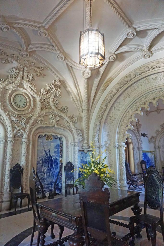 Interior Buçaco palace hotel