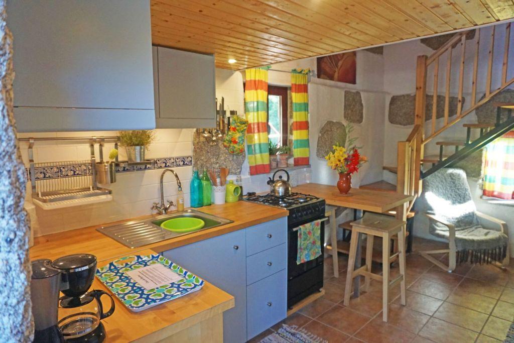 Quinta do Cobral kitchen