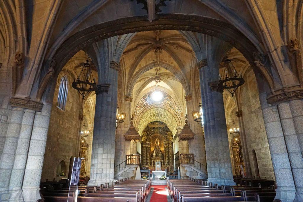 Entrance to Viseu Cathedral