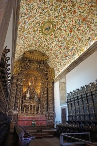 Inside the Viseu Cathedral