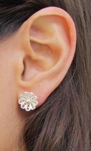 Diana earring silver 4