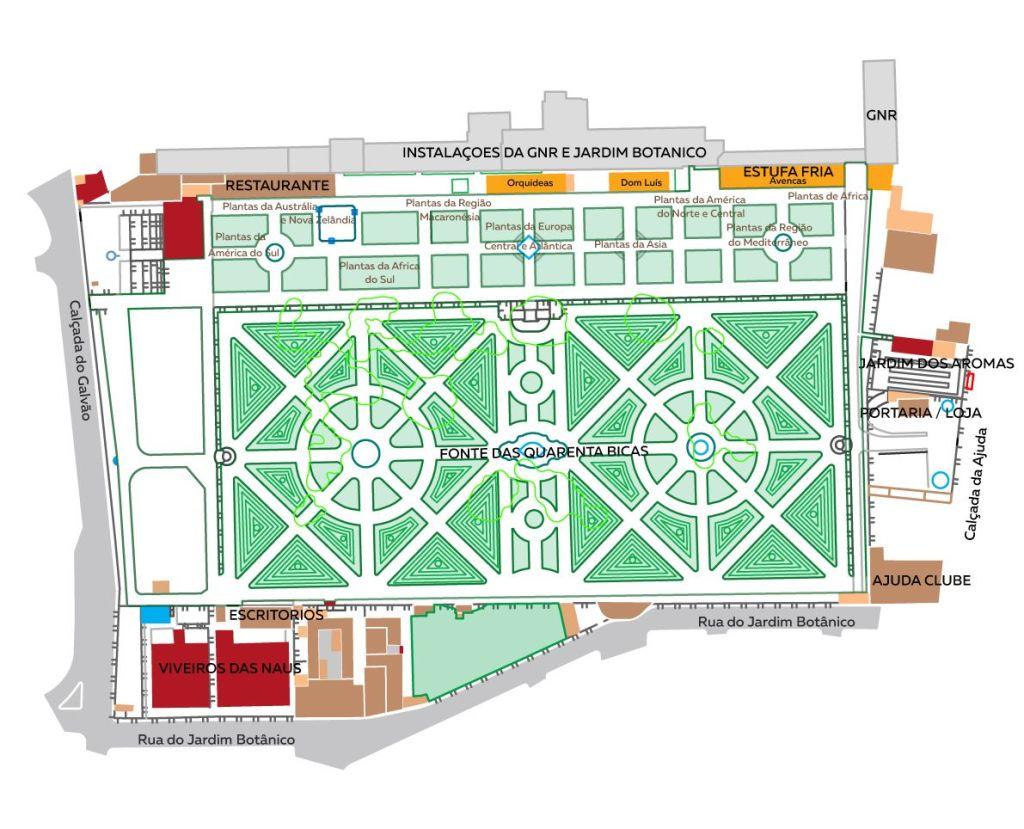Jardim Botanico plan