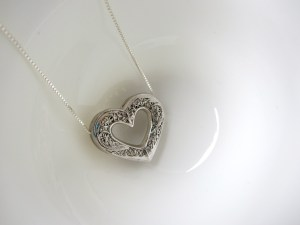 Lidia necklace silver 3