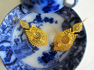 Maria Earring Gold L 2