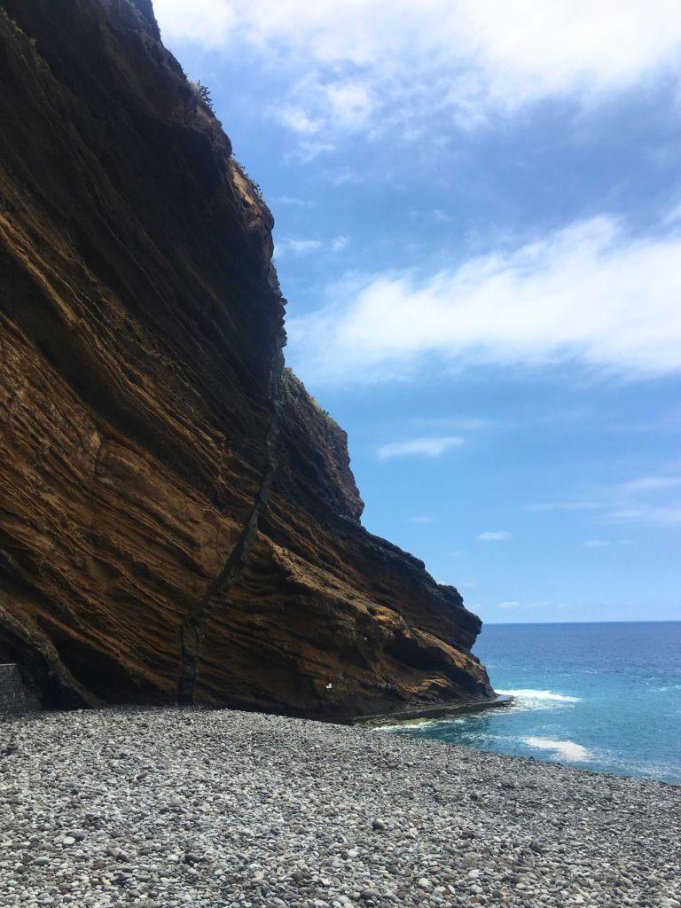 Beach in Madeira
