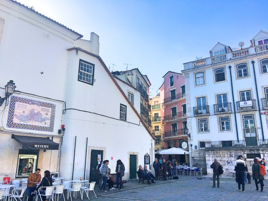 Square in Alfama