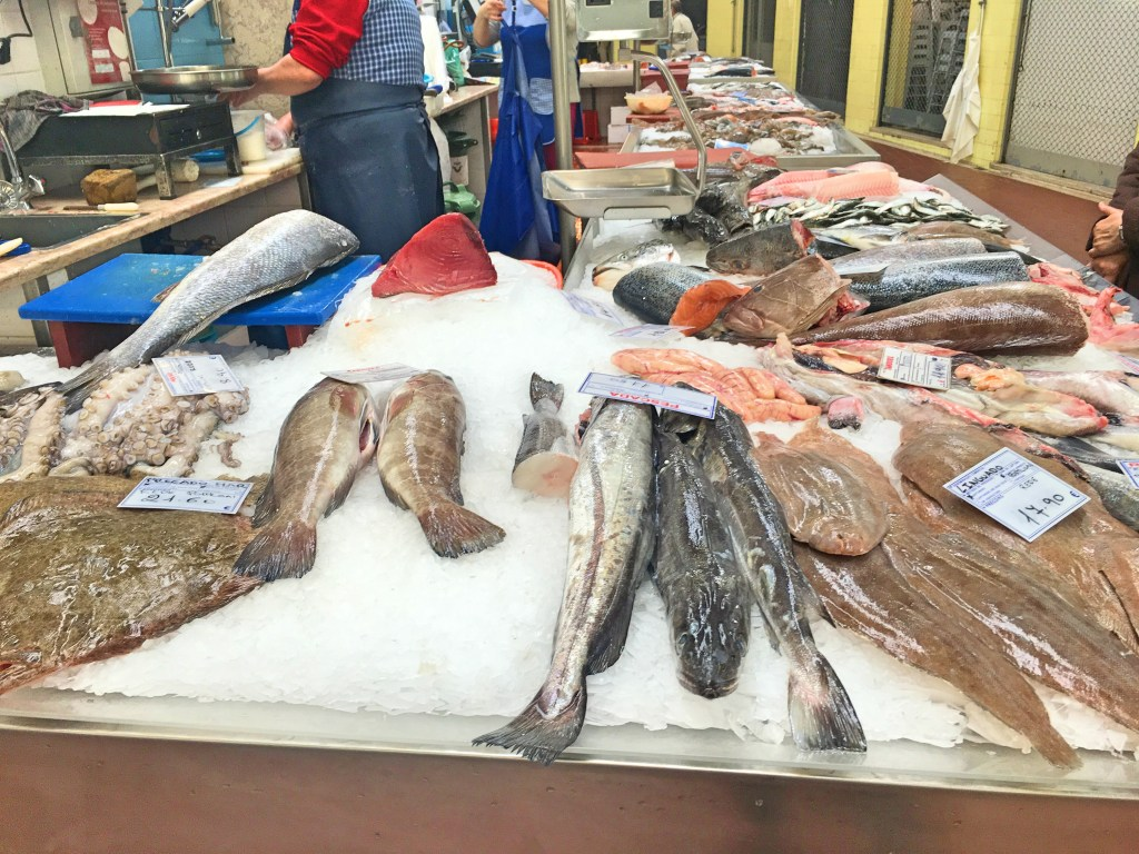 Fish at Mercado de Campo de Ourique