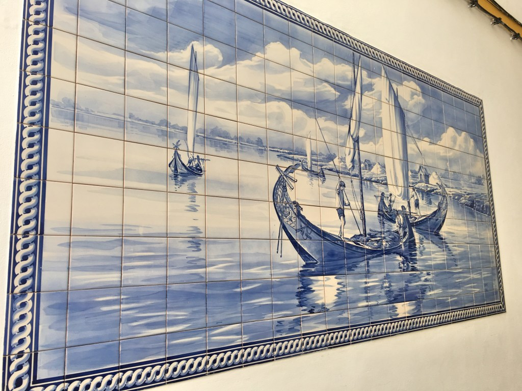 Moliceiro azulejo