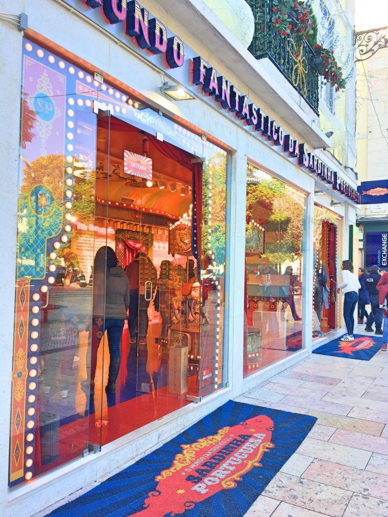 Storefront Mundo Fantástico da Sardinha Portuguesa