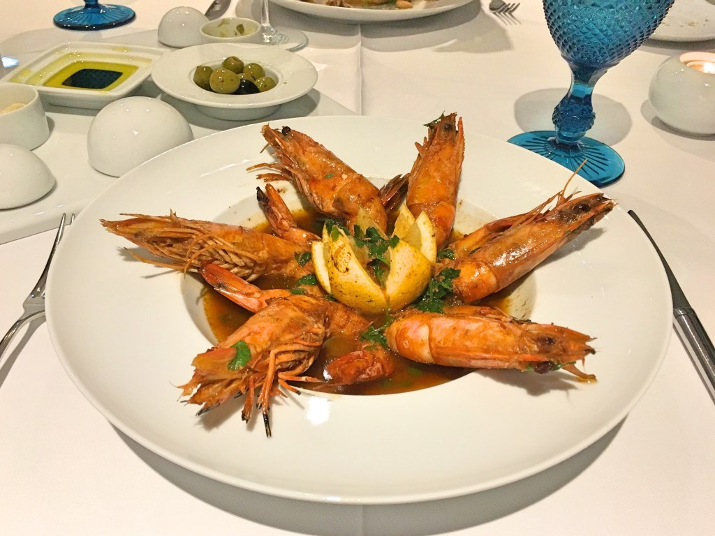 Jumbo shrimp restaurant Montebelo