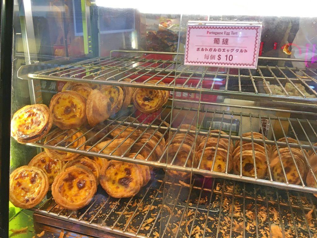 Pasteis de nata, Macau