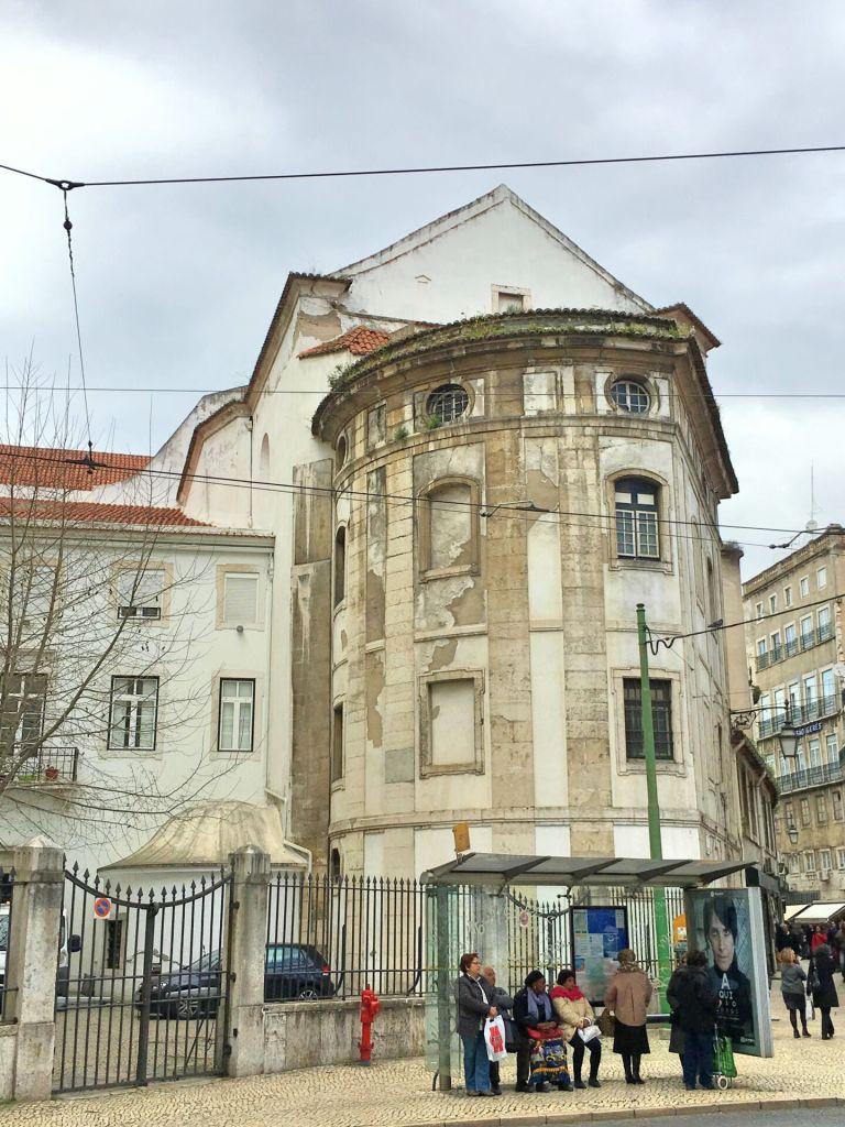 Back of Igreja de São Domingos
