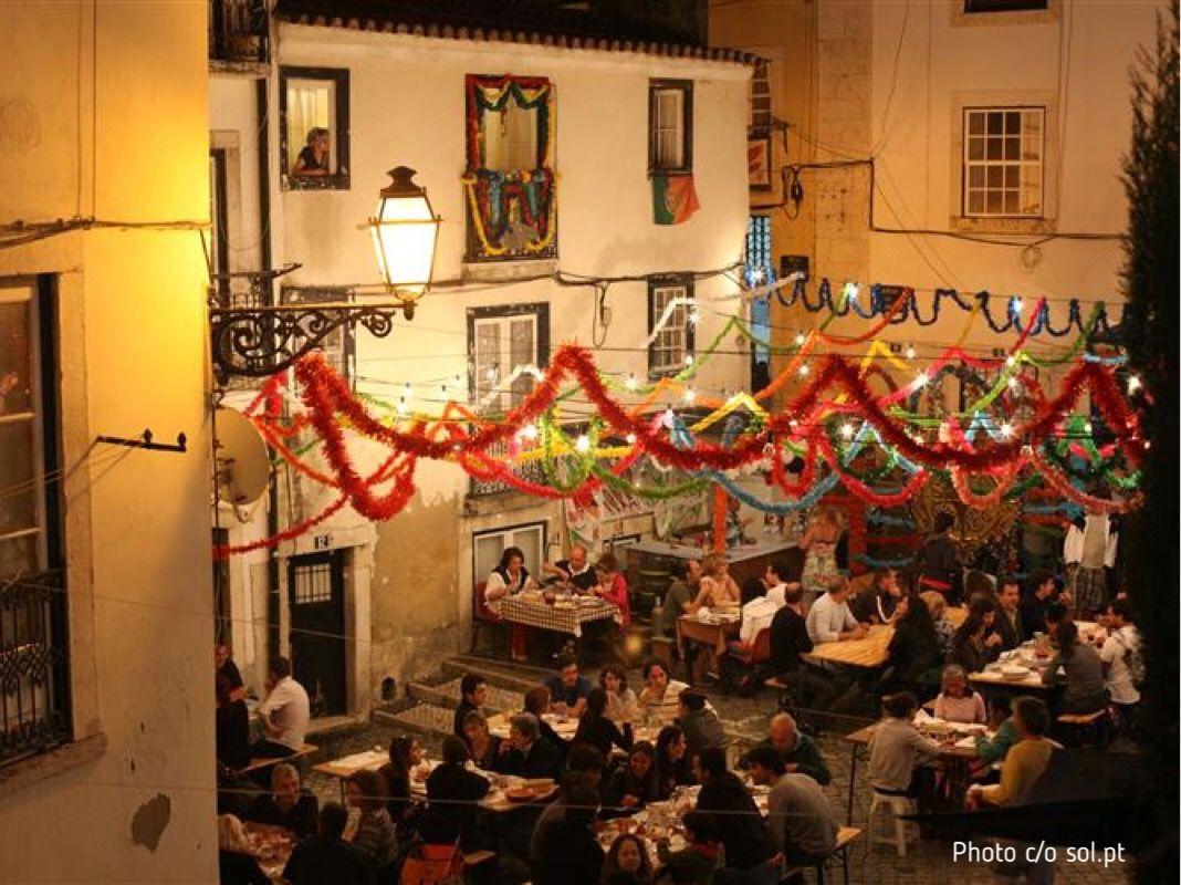 Streets Saint Anthony, Lisbon