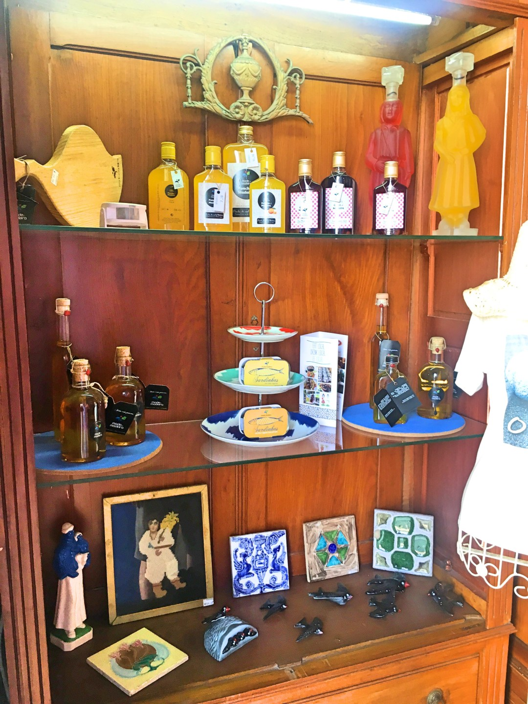 Made in Madeira cabinet