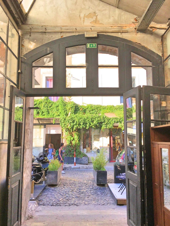 Door at LX Factory