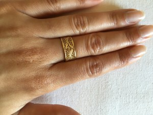 Lidia Gold Ring 3