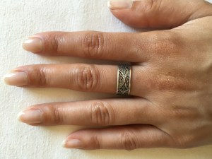 Lidia Silver Ring 4