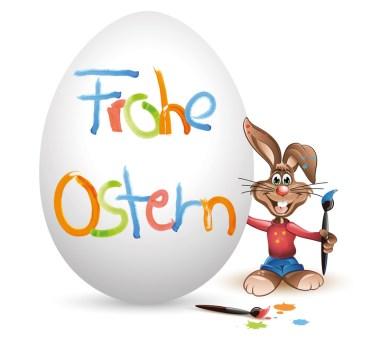 Osterhase Osterei Frohe Ostern – Apotheke zum Schutzengel