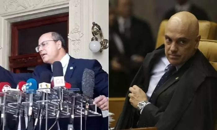VALE TUDO: Alexandre de Moraes/STF libera o processo de impeachment contra Witzel.