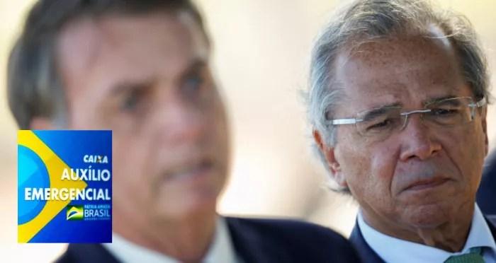 Bolsonaro tira 6 milhões de pessoas do Auxílio Emergencial, com Medida Provisória.