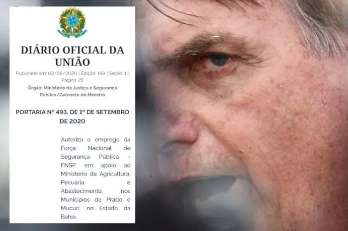 Pedido para usar Força Nacional contra MST na Bahia partiu de Nabhan Garcia