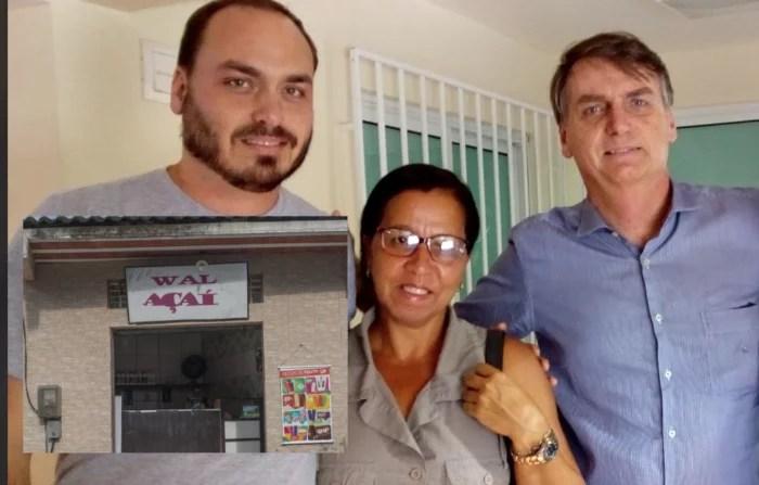 Escárnio: A laranja 'Wal do Açaí' registra candidatura para vereadora como 'Wal Bolsonaro'