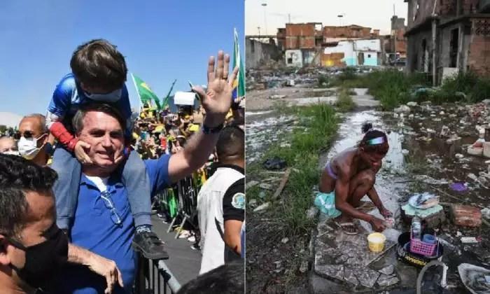 Gov. Bolsonaro sugere que o salário mínimo não tenha aumento real, em 2021.