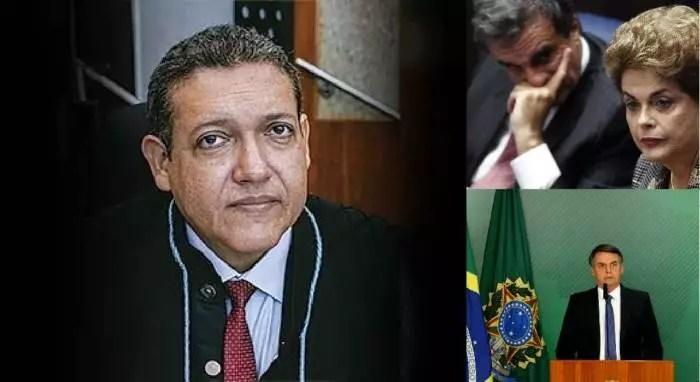 O que a indicação Kássio Nunes ao STF liga Bolsonaro a Dilma?