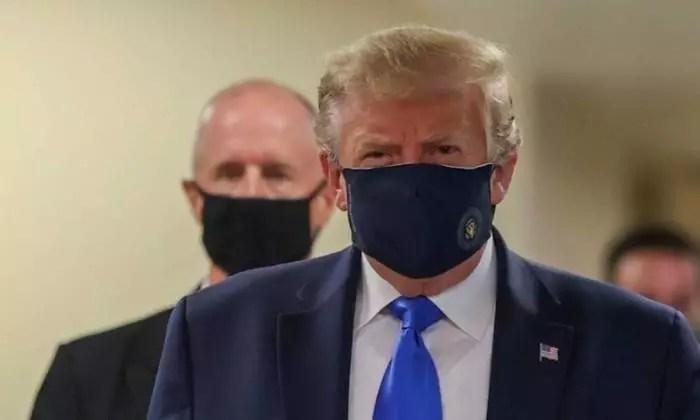 Trump é internado em hospital militar, com febre alta, tosse e cansaço.