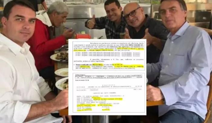 MP: Descuido de Queiroz deixa rastro de uso de verba pública para comprar cobertura de F. Bolsonaro