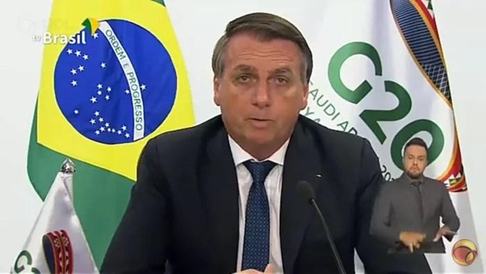 Vídeo: Bolsonaro choca o G20 ao afirmar não existir racismo no Brasil.