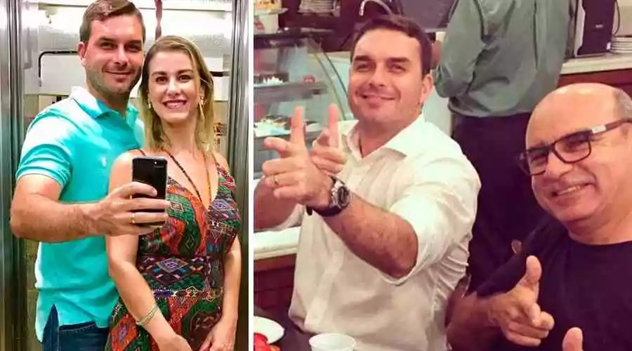 F. Bolsonaro e mulher receberam R$ 295,5 mil em depósitos sem origem conhecida para pagar apartamento na Barra