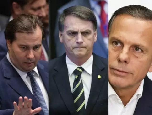 Bolsonaro ordena que ministros não atendam solicitações de São Paulo, em resposta a Dória.