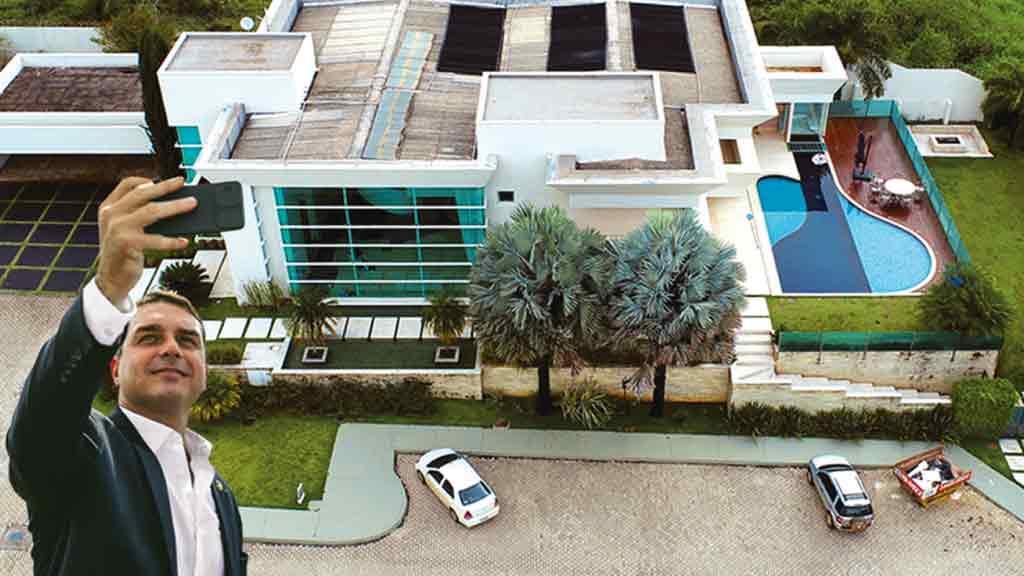 Corregedoria vai apurar omissão de F. Bolsonaro em escritura de mansão de R$ 6 milhões