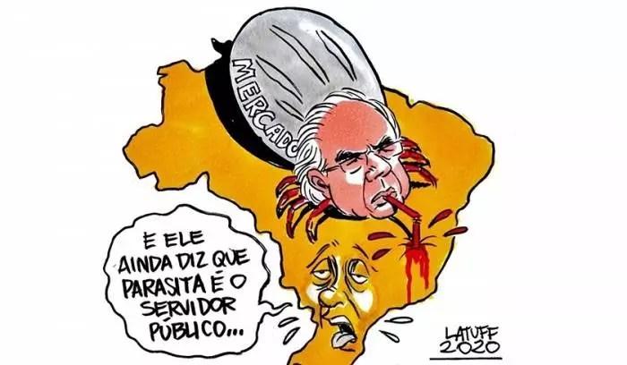 Paulo Guedes: um símbolo da decadência que o Brasil mergulhou