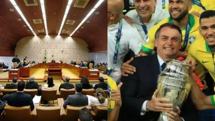 STF decidirá na quinta-feira sobre a realização da Copa América no Brasil
