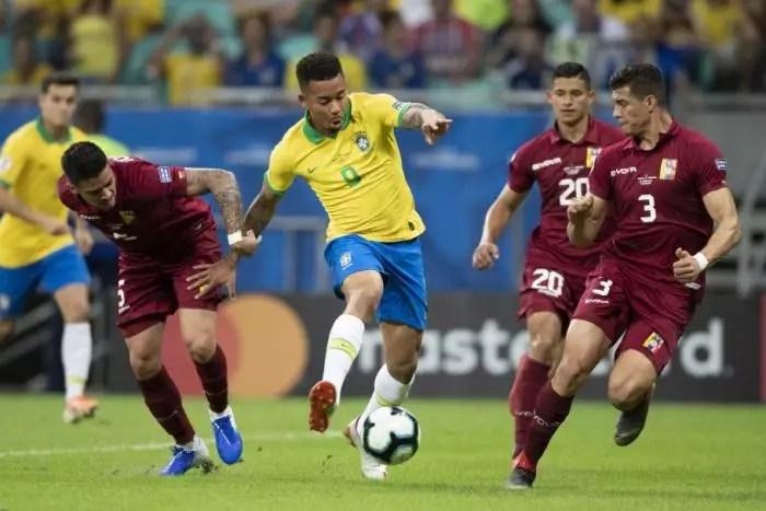 Cova América: Venezuela tem 12 casos de Covid, na véspera do jogo contra o Brasil.